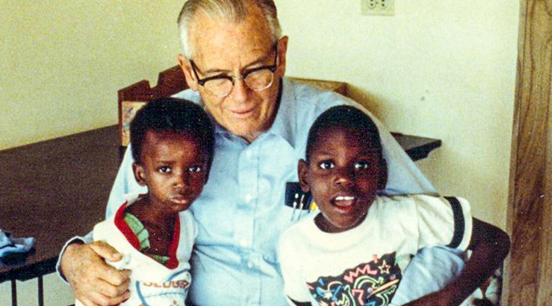 Fr. Wasson and Fr. Rick Frechette travel to NPH Haiti where they witness an overwhelming need for hospice and residential care service in 1987