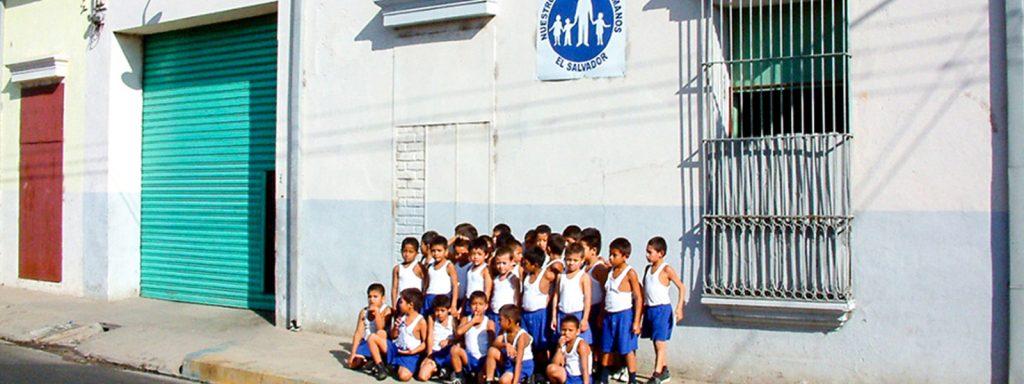 The children of war-torn El Salvador welcomed into the NPH family in 1999