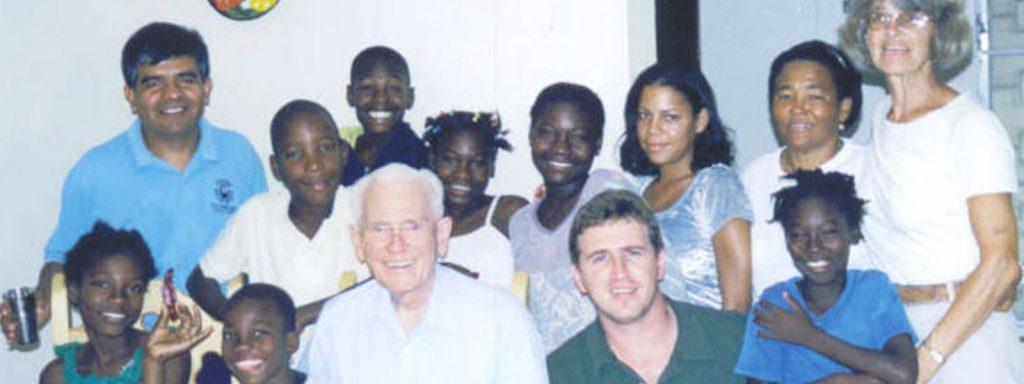 NPH Dominican Republic opens in San Pedro de Macoris with seven children in 2003