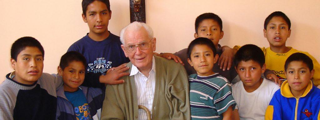 Fr. Wasson opens a NPH home in Peru in 2004