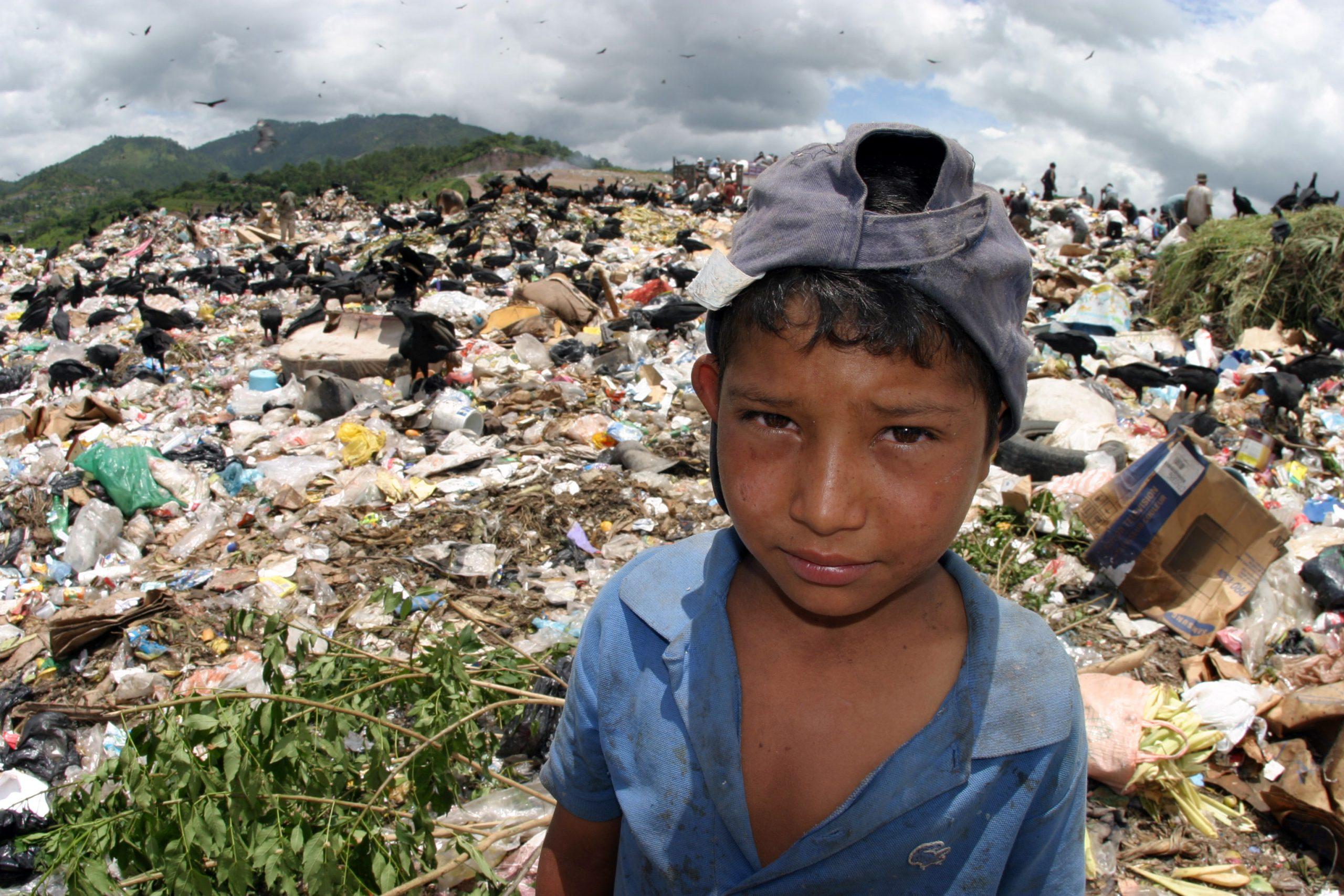 Pobreza infantil en América Latina - Honduras