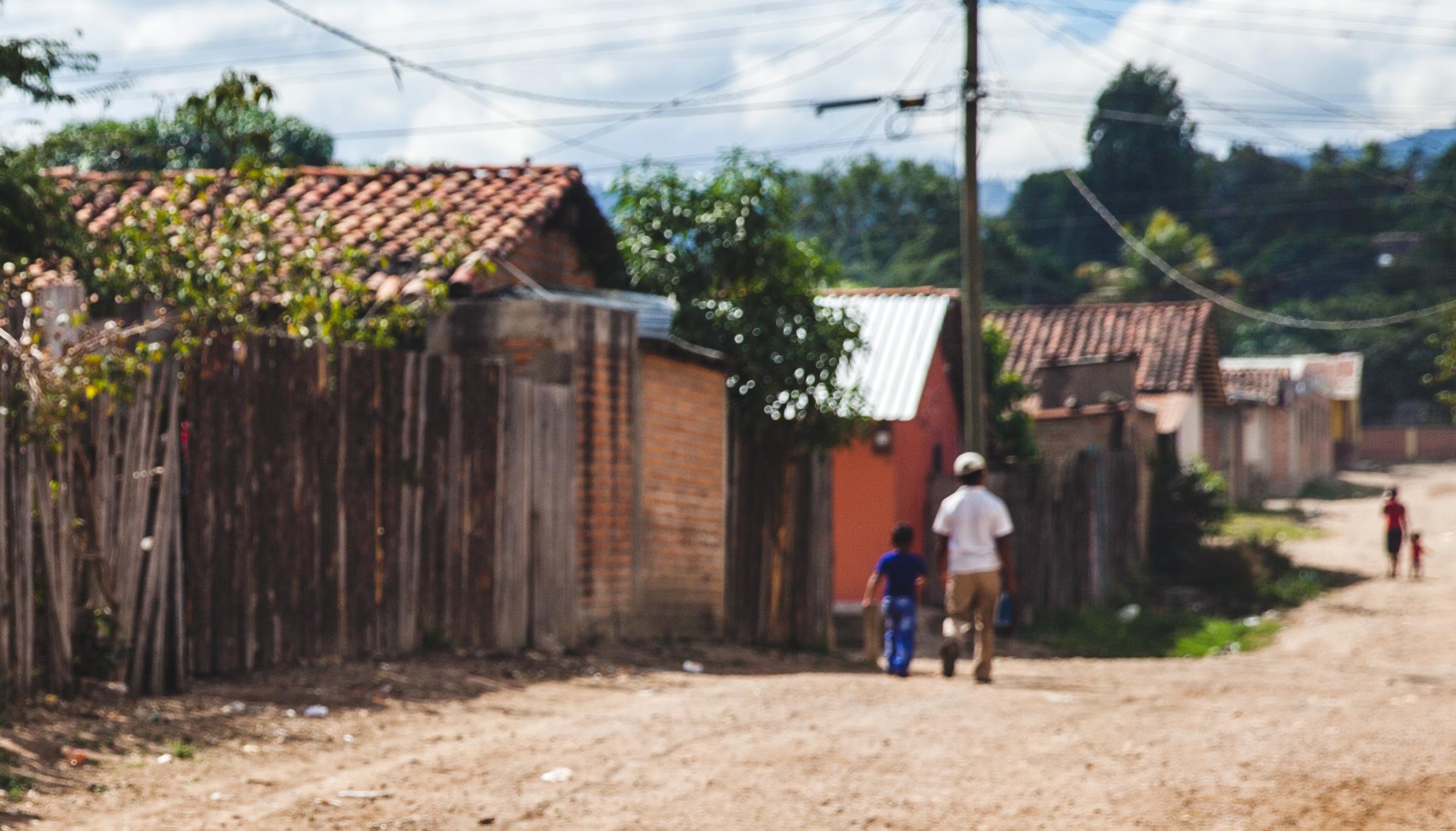 Pobreza infantil en América Latina: Niños desplazados