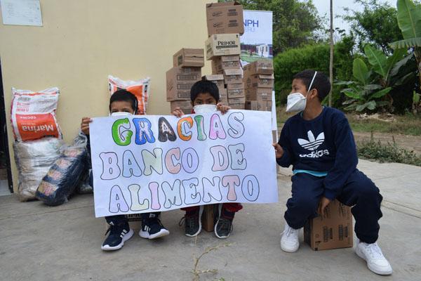 NPH Peru Grateful to Banco de Alimentos del Perú for the Continued Support
