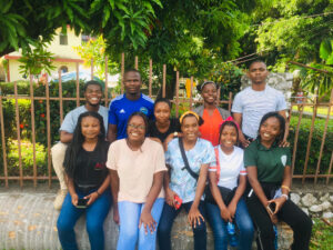 Team after their mission in the Les Cayes city in the aftermath of the 2021 earthquake.